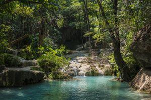 Erawan National Park, Kanchanaburi Province, Thailand