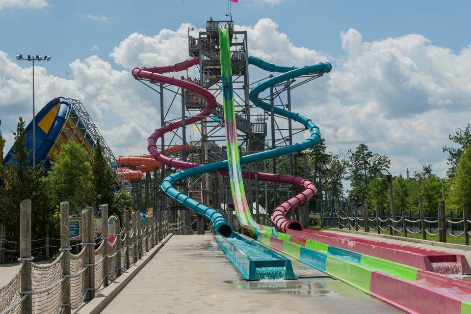 Six Flags Hurricane Harbor Water Park New Jersey Jpg
