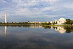 The Tidal Basin in Washington, DC