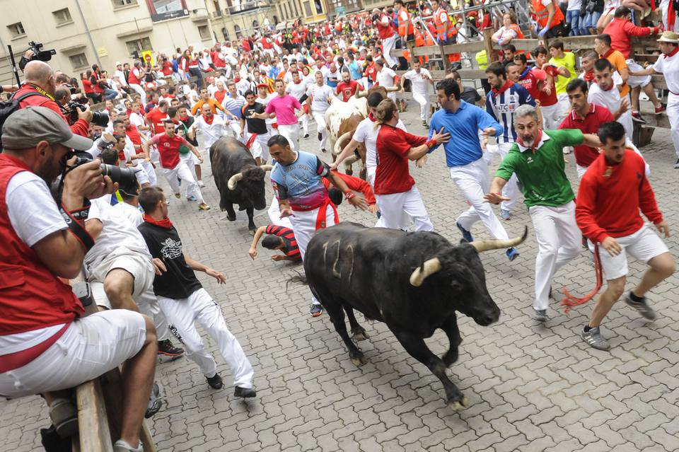 Day 8 - San Fermin Running of the Bulls 2017