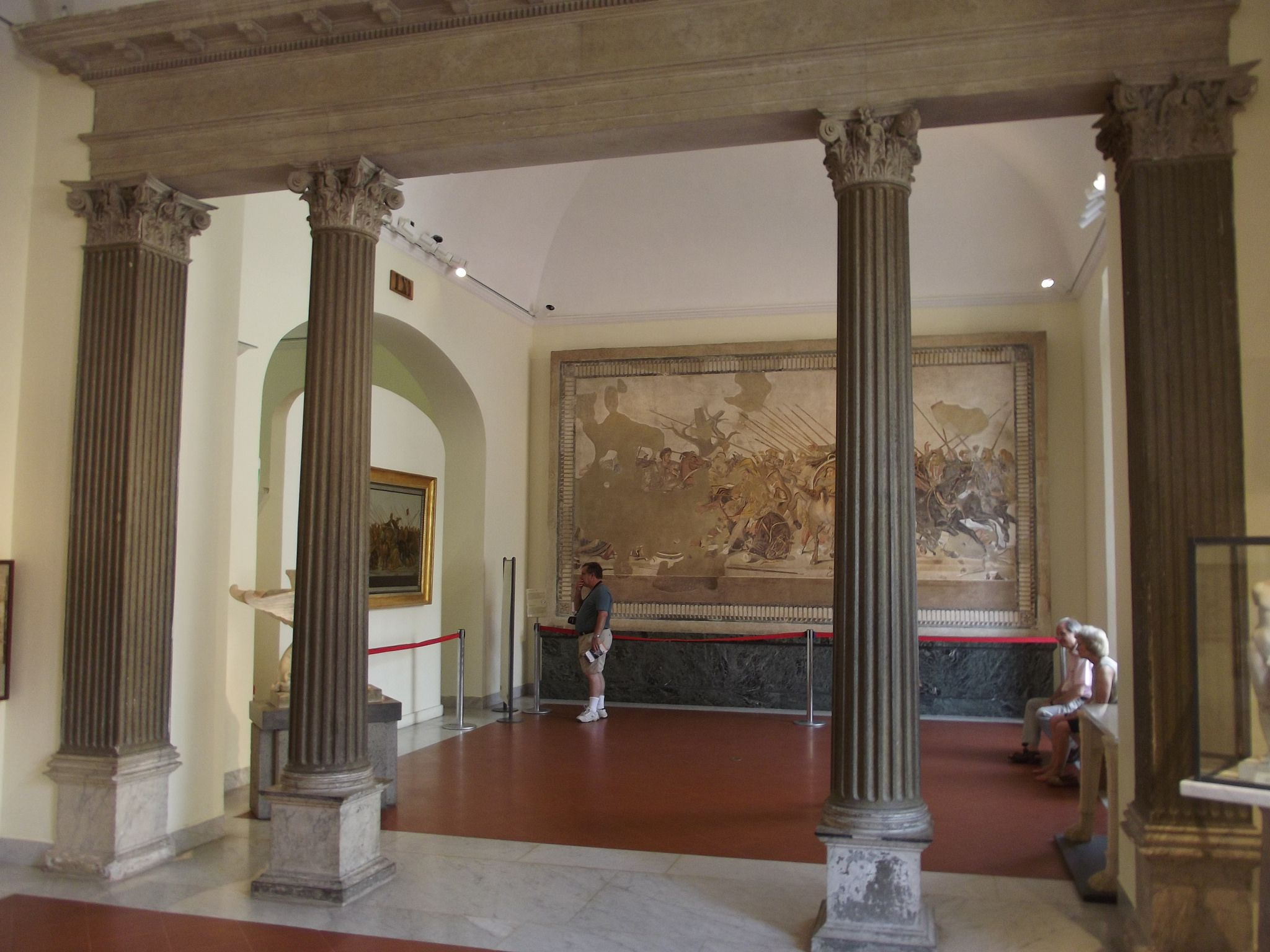 National Archaeological Museum Of Naples Italy