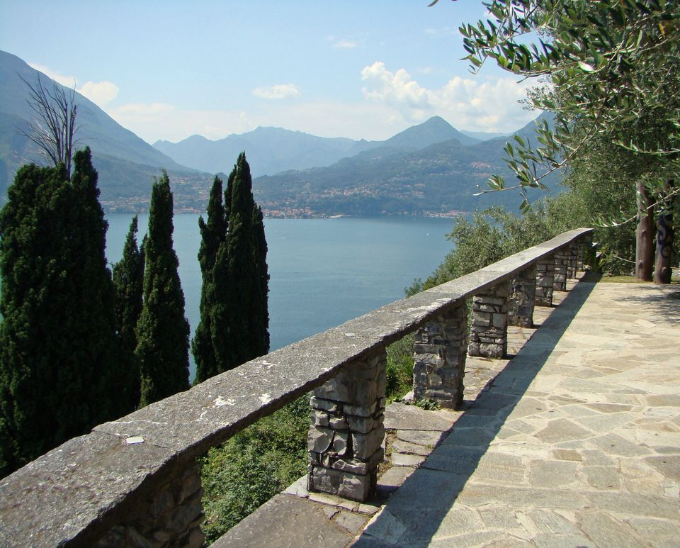 Lake Como benefits from a backdrop in the Italian Alps
