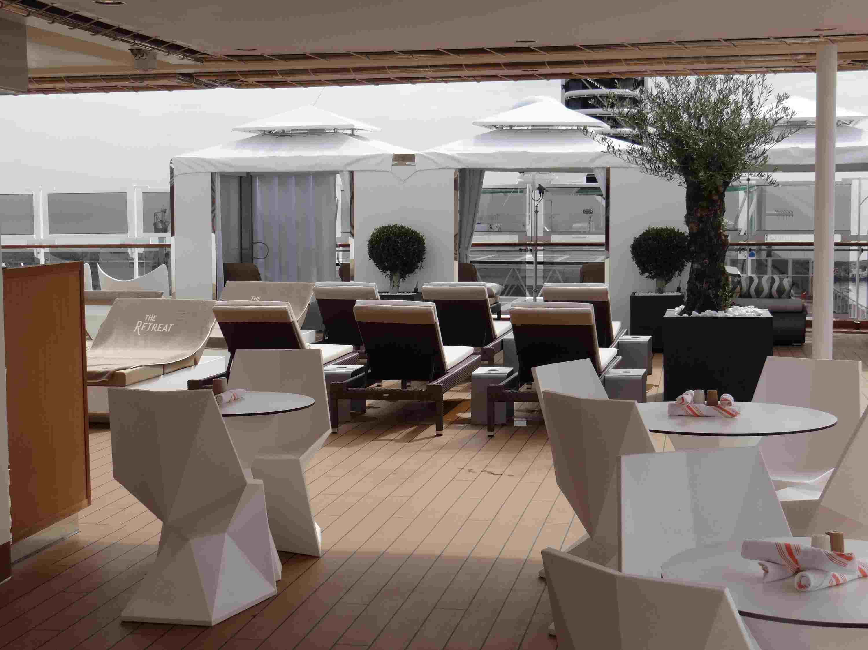 The Retreat on the Holland America Koningsdam cruise ship