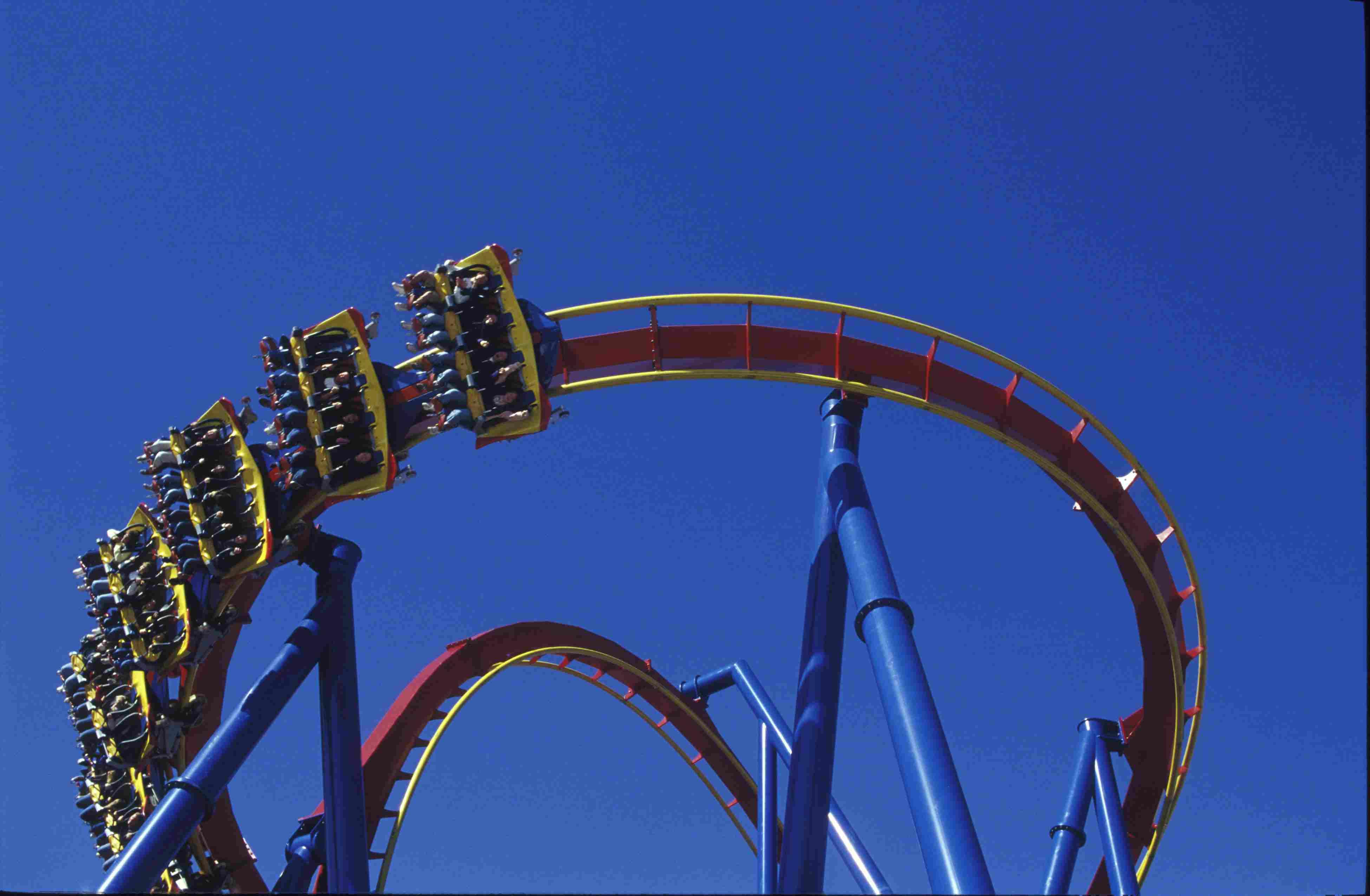 Superman- Ultimate Flight at Six Flags