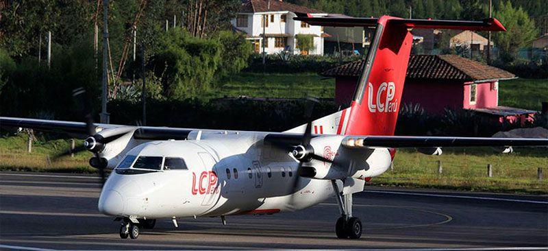 De Havilland Canada DHC-8-200 (LC Peru) 92