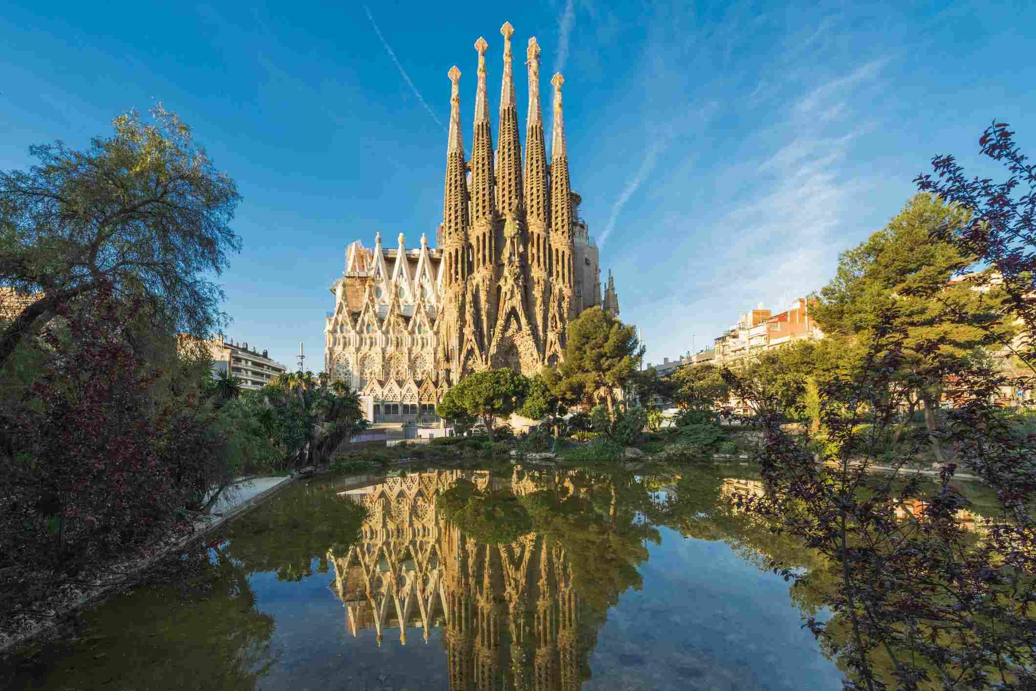 Sagrada Familia in Spain, Barcelona