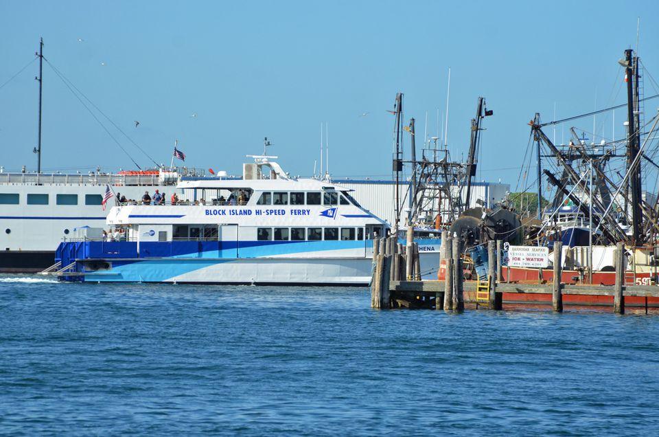 Block Island Car y Ferries de alta velocidad