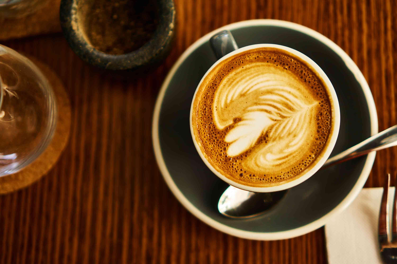 Café con leche plano