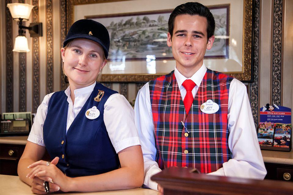 Disneyland Cast Members at City Hall