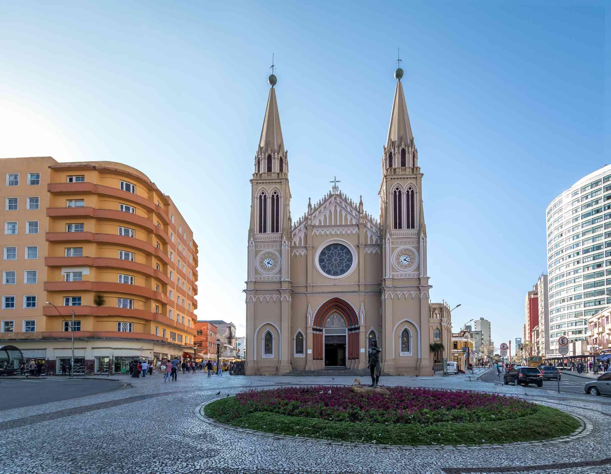 Catedral de Curitiba - Curitiba, Paraná, Brasil