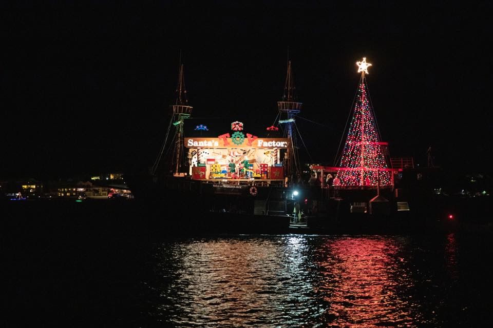 Christmas Boat Parade Decorating Ideas.Things To Do For Christmas In The Caribbean