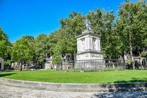 Père Lachaise Cemetery in Paris, France