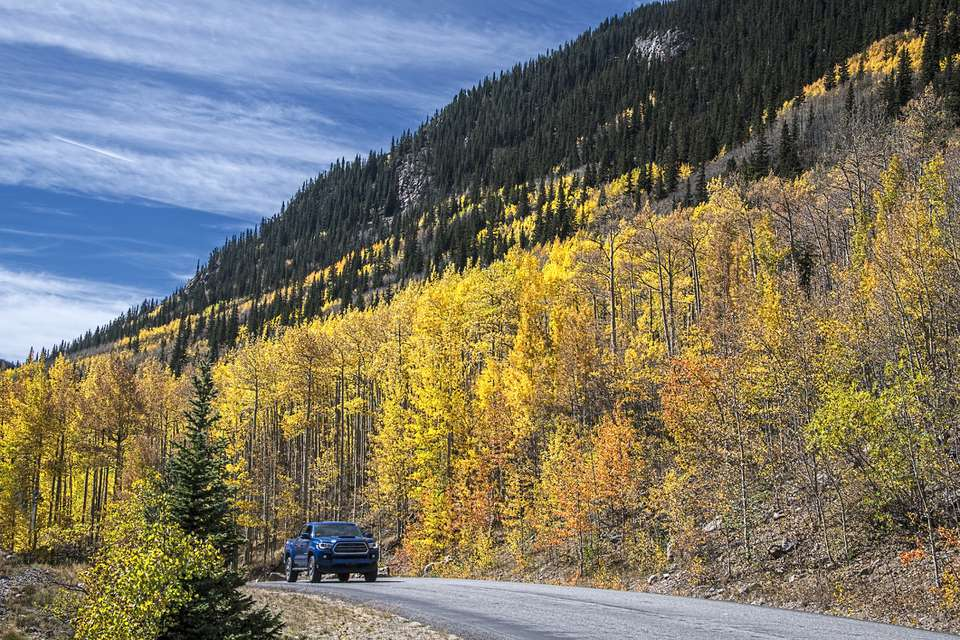 Guanella Pass, Fall, Colorado Scenic Byway