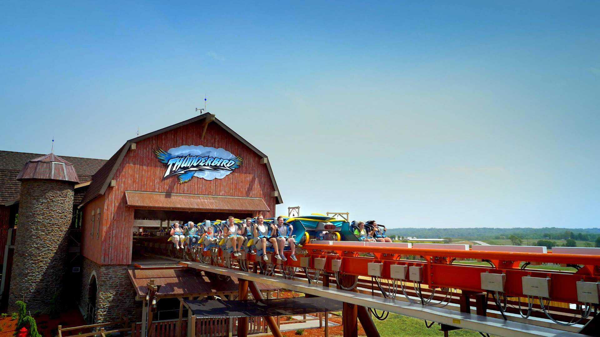 Thunderbird at Holiday World Theme Park & Splashin' Safari Water Park