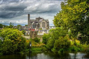 Saint Canice's Cathedral in Kilkenny