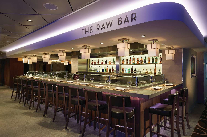 The Raw Bar on the Norwegian Getaway