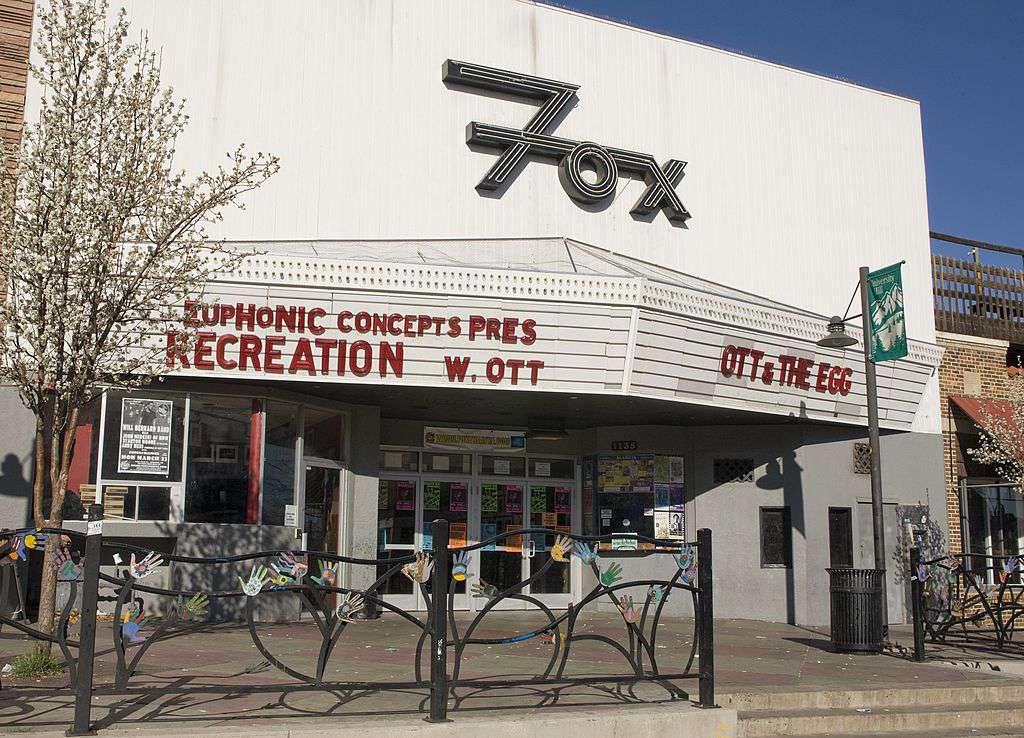 The Fox Theatre on University Hill