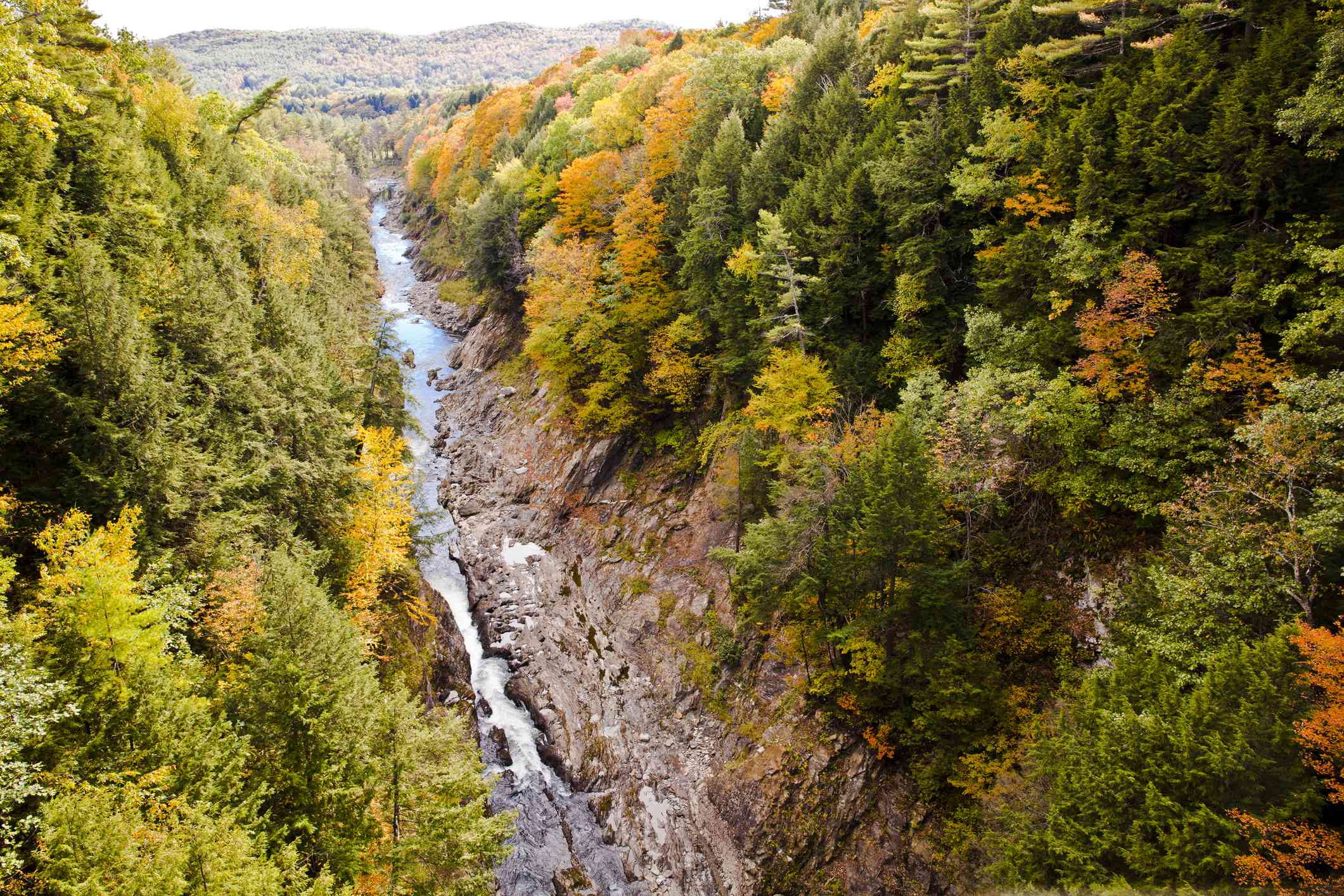 Quechee Gorge in the Fall