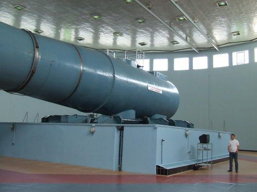 Centrifuge at Star City Outside Moscow, Russia