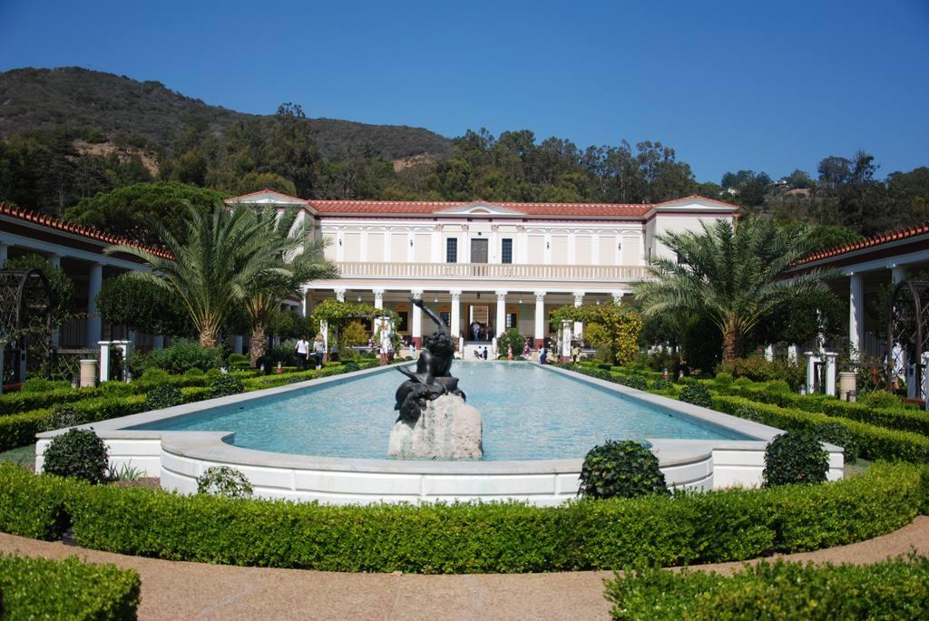 Vista exterior de la Villa Getty