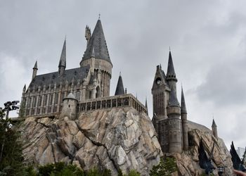 View of Harry Potter world at Universal