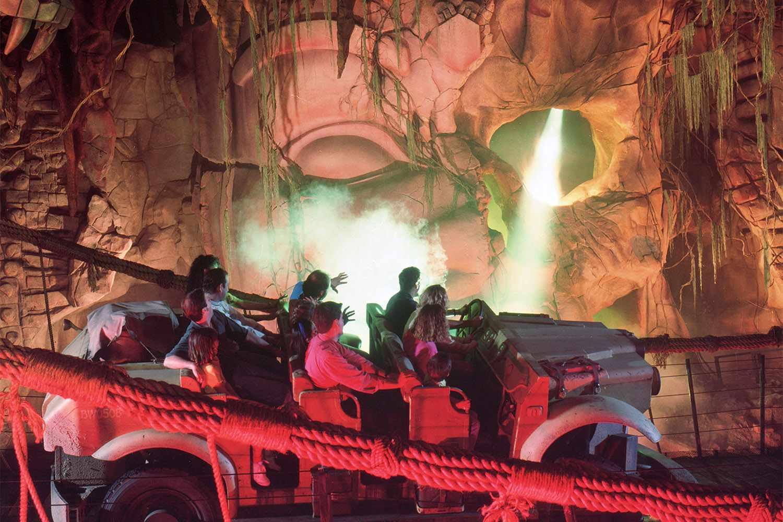 Indiana Jones' Adventure is a Classic Disneyland Dark Ride