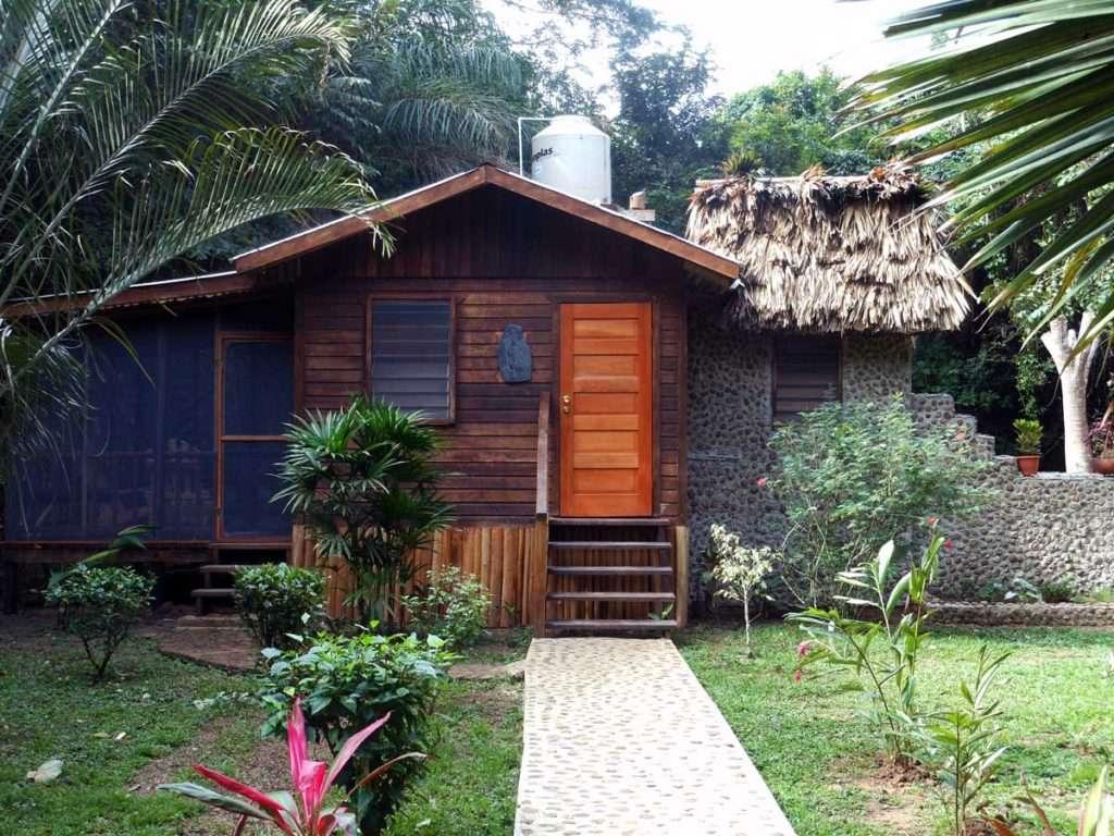 Macaw Bank Jungle Lodge building