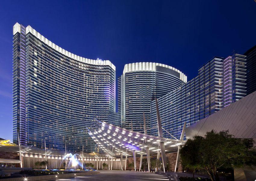 Exterior at ARIA at CityCenter in Las Vegas