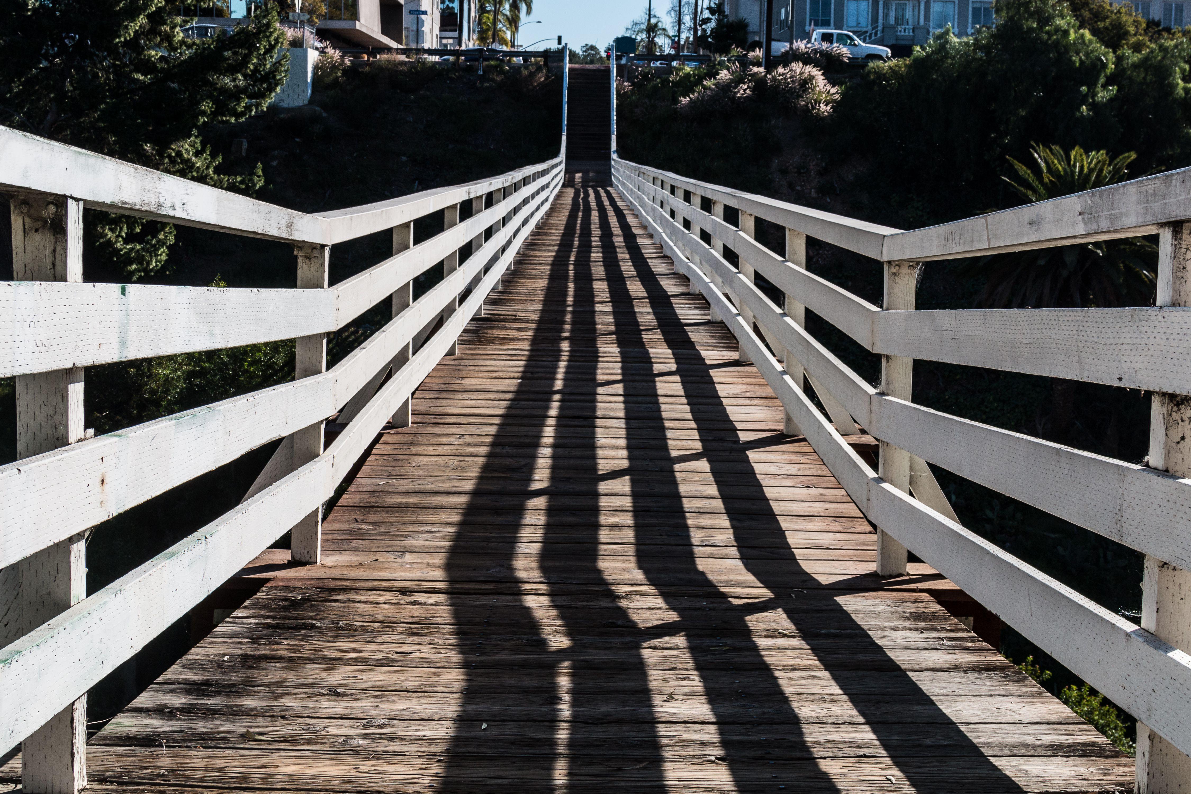 On Top of Historic Quince Street Pedestrian Bridge