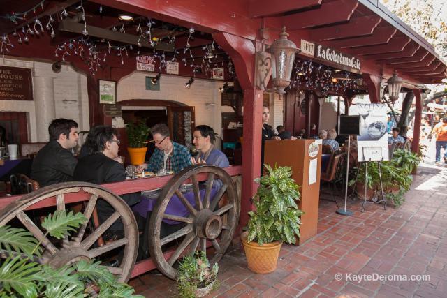 La Golondrina restaurant on Olvera Street in Los Angeles