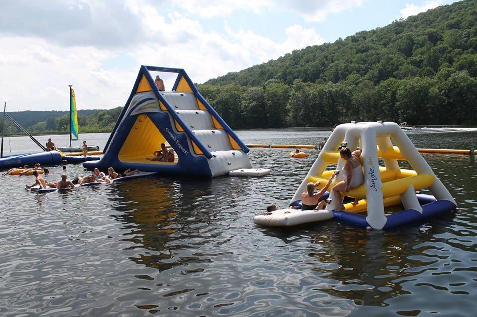Water activities at Club Getaway