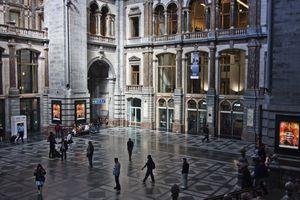 Interior Waiting Area, Antwerpen Central Station