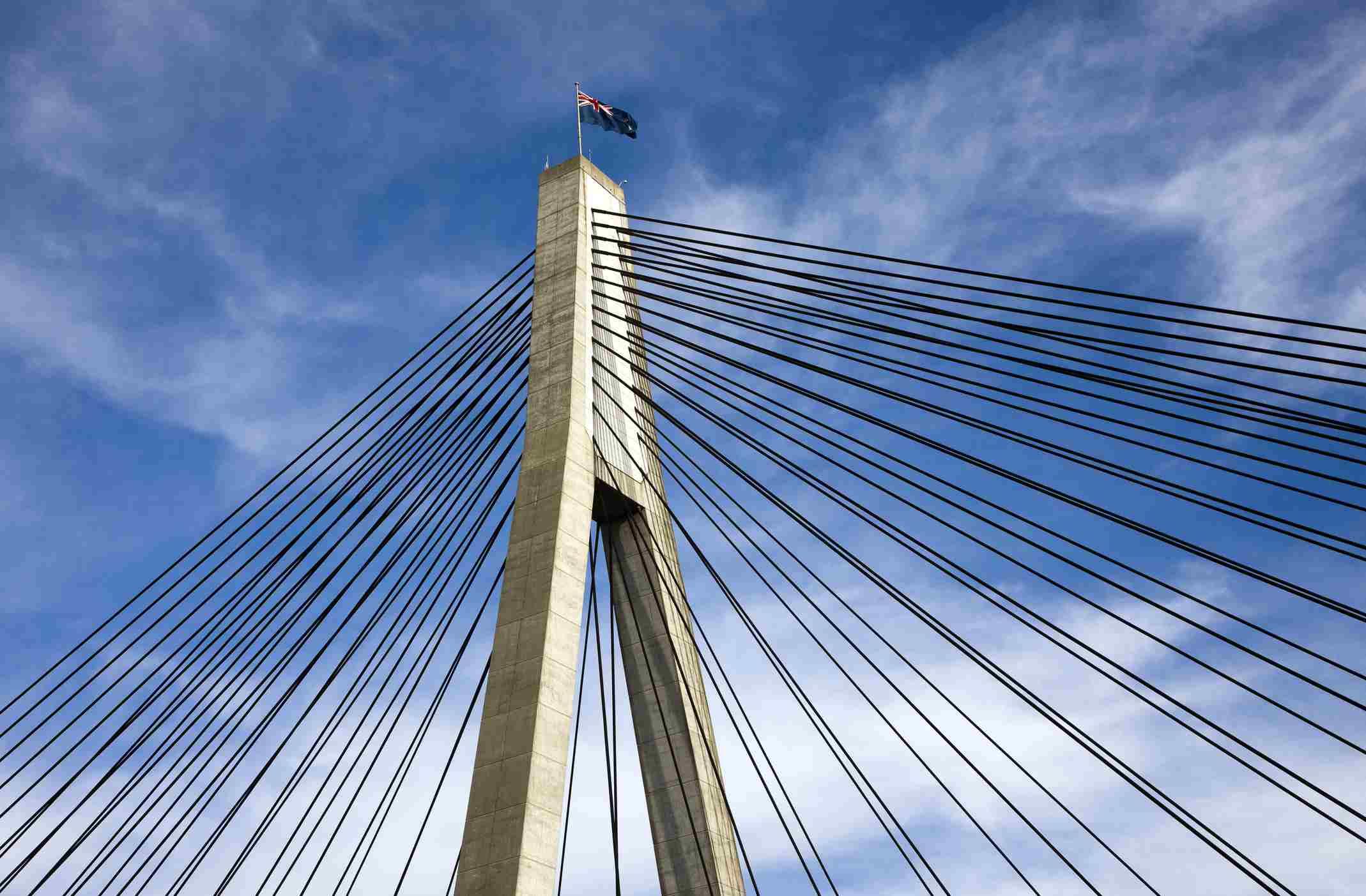 Anzac Bridge, Sydney, NSW, Australia