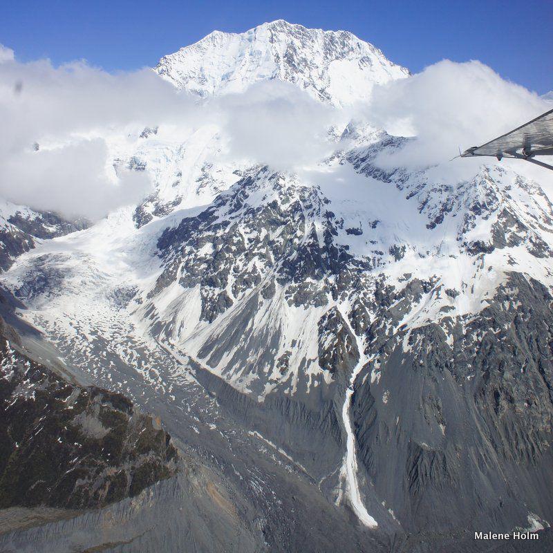 Glaciar Mt Cook y Tasman