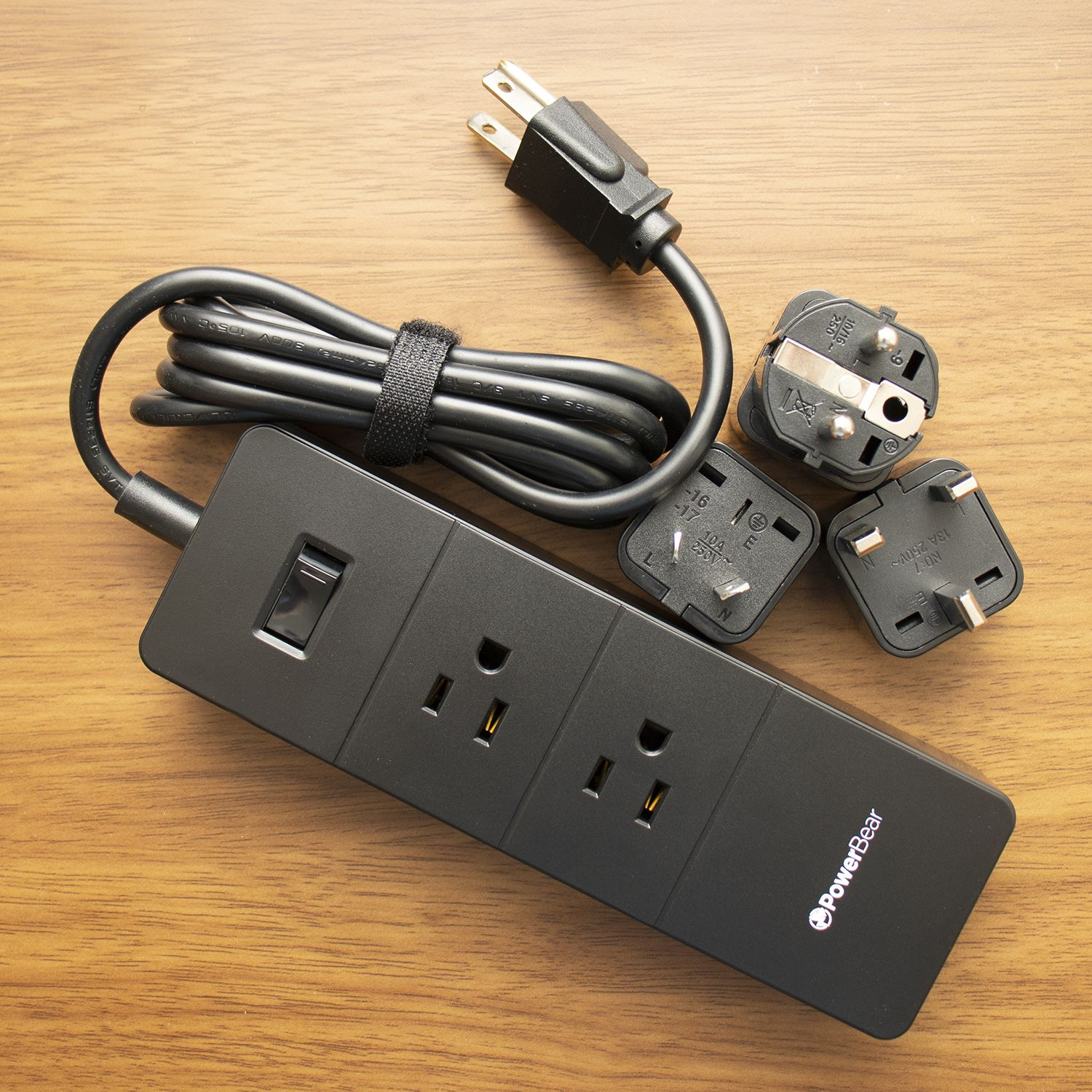 PowerBear Travel Adapter and Surge Protection Strip Review
