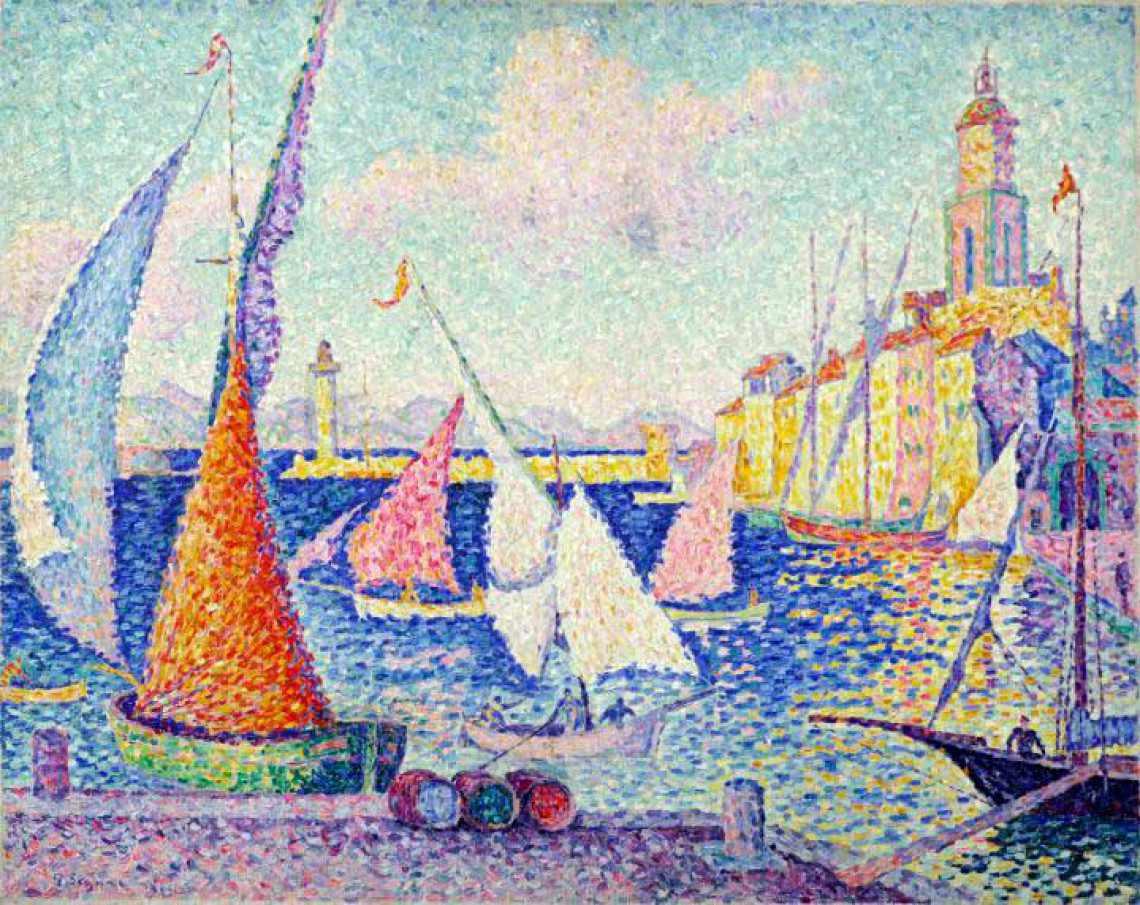 Painting at Musée de l'Annonciade, St-Tropez