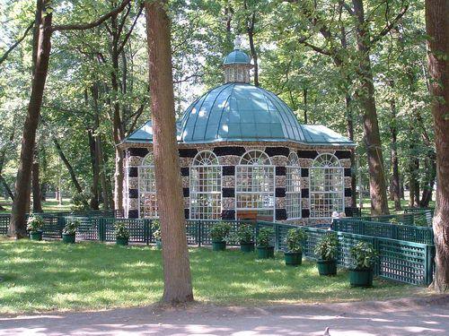 Small Pavilion in Peterhof Park