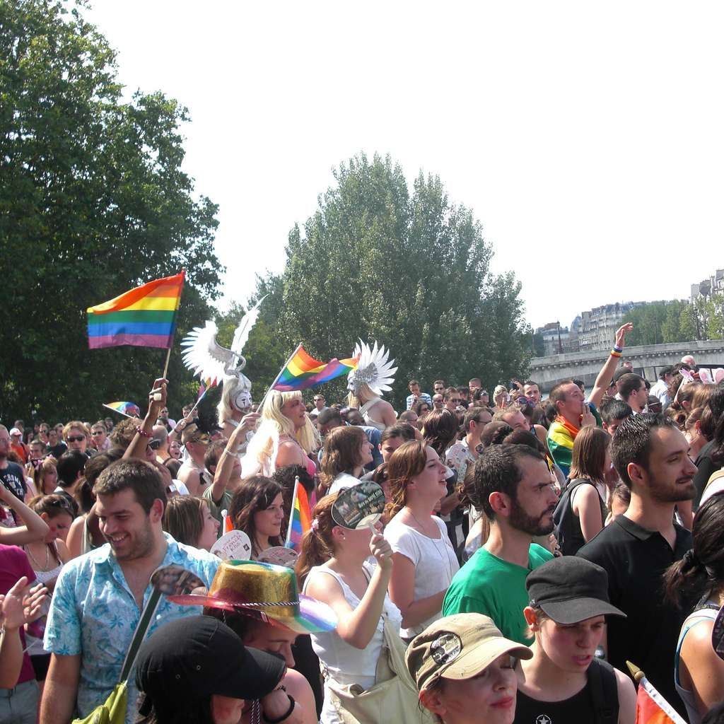 Paris' Gay Pride event is one of the most festive occasions of the year.
