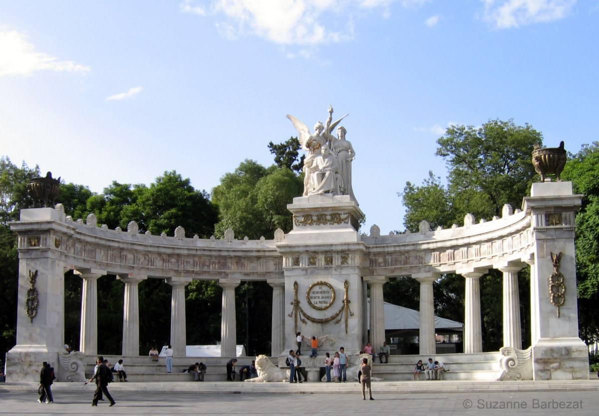 Monument to Benito Juarez, Alameda Park