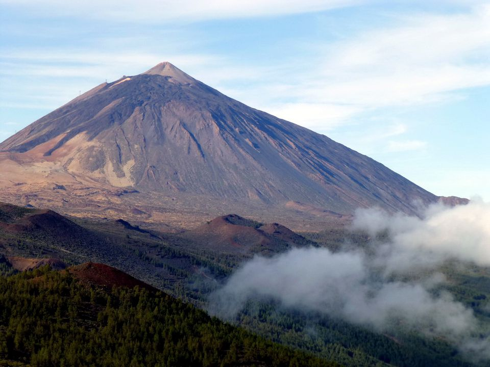 Mount Teide on Tenerife in the Canary Islands