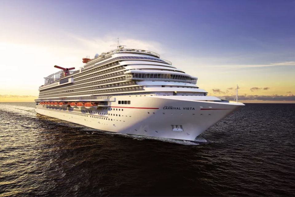Carnival Vista at sea