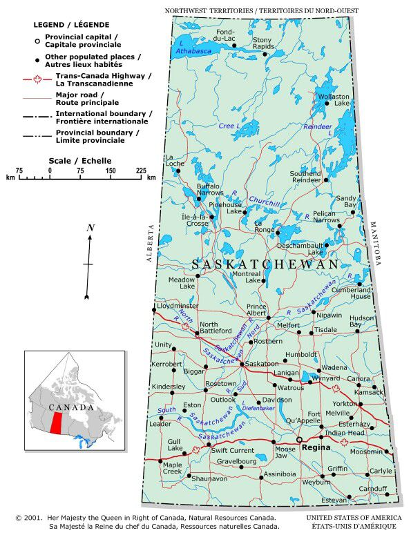 Map Of Canada With Lakes.Plan Your Trip With These 20 Maps Of Canada