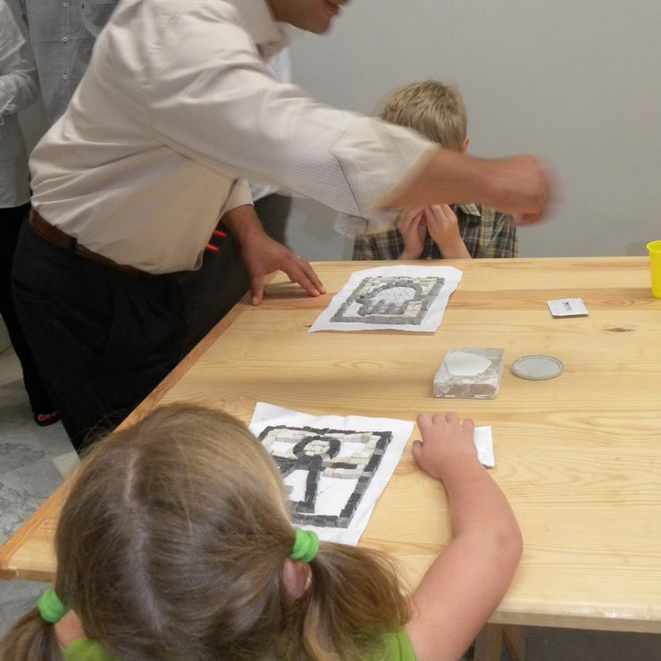 Making Mosaics at the Bardo Museum in Tunis from the Disney Magic