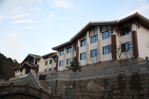 Exterior of the new wing of the Xihai Hotel, Huangshan