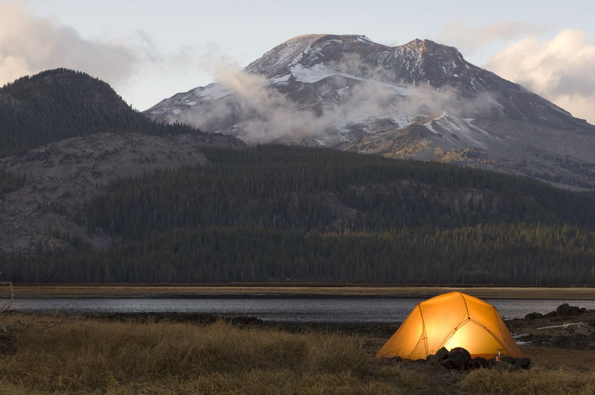 camping West Yellowstone