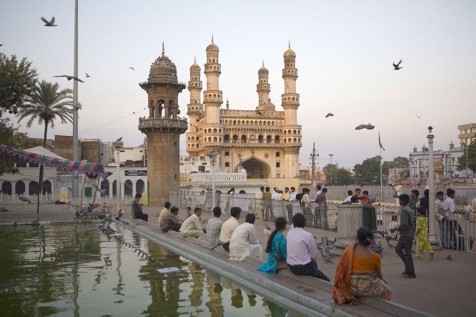 Mecca Masjid mosque (Charminar), Hyderabad