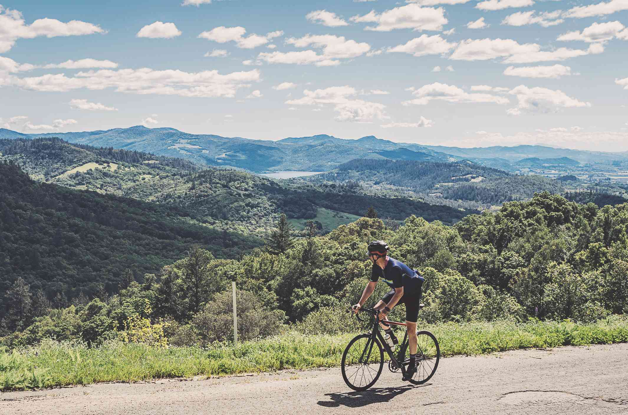 Cycling in Napa Valley