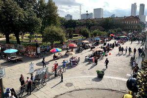 View of Jackson Square