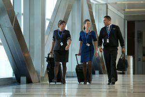 United Airlines flight attendants