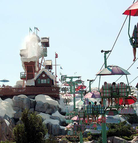 Blizzard Beach Water Park At Walt Disney World Florida